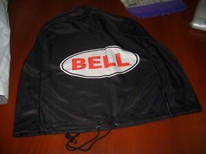 MOTORCYCLE HELMET BAG MICROFIBER BELL HELMET BAG CARRY HELMET DUFFLE BLACK BIKE