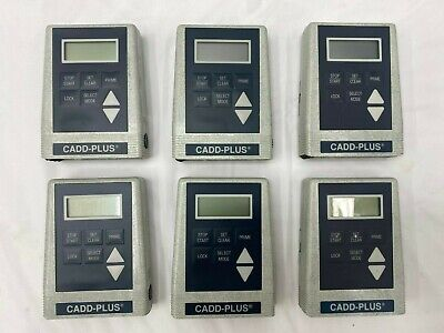 Cadd-plus 5400 Ambulatory Infusion Pumps - Lot Of 6 - Unable To Test