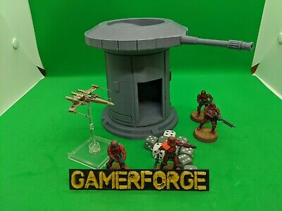 Dice Tower Roller for Star Wars Legion X-Wing Armada RPG Terrain Scenery Wargame