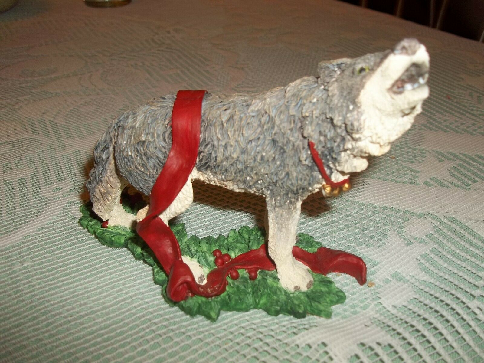 Tom Rubel Silver Deer Christmas Animals Wolf ...
