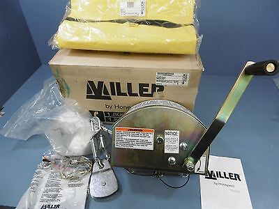NIB Miller Honeywell 8442GC/65FT Manhandler Hoist Winch 350LB Galvanized