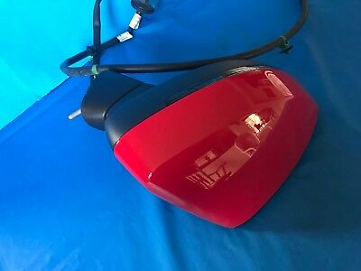 NEW OTHER2015 18 AUDI A3 CABRIO DOOR Mirror Assembly Right RED OEM 8V7857410