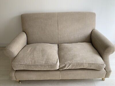 JOHN LEWIS 2 SEATER SOFA WITH DUCK DOWN FEATHER SOFA CUSHIONS EXCELLENT QUALITY!