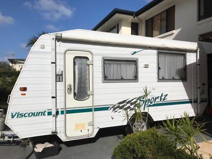 2004 Viscount Sportz Full Caravan Buddina Maroochydore Area Preview