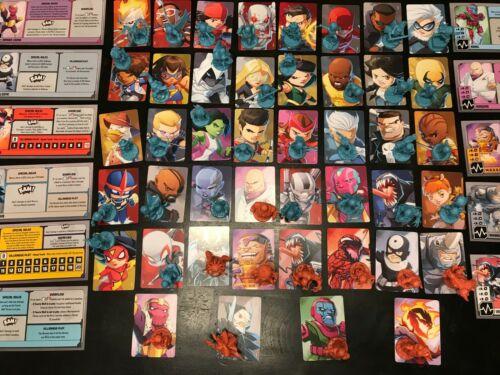 Marvel United - Kickstarter Pledge Exclusives Mini & Cards CMON OOP-  (YOU PICK)