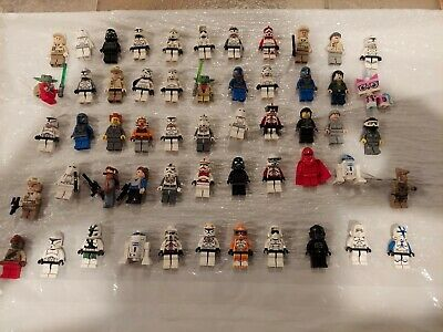 Vintage LEGO Huge lot of Star Wars Minifigures, Sets and weapons
