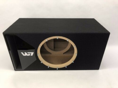 JL Audio 13W7 AE ported subwoofer box SPECIAL EDITION with black plexi port trim