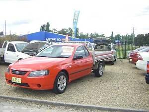 2007 Ford Falcon Ute BF MKII Tradesman 6cyl Auto Tidy Country Car Orange Orange Area Preview