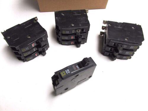 Square D 20A, 1P Circuit Breakers Bolt-on Cat# QOB120 ( Box of 10)  .. UA-606