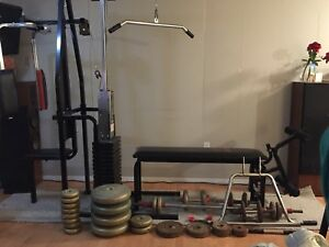 Gym and Weights $500 OBO