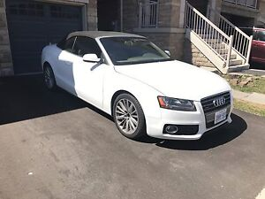 2010 Audi A5 convertible 120km SOLD SOLD