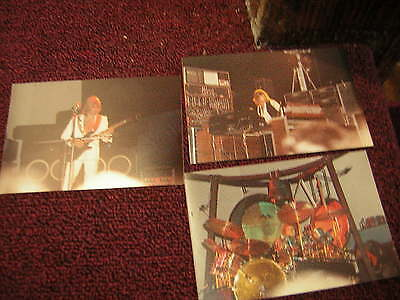 EMERSON LAKE& PALMER PHOTOS 3X5 VINTAGE 70'S UNPUBLISHED KEITH EMERSON