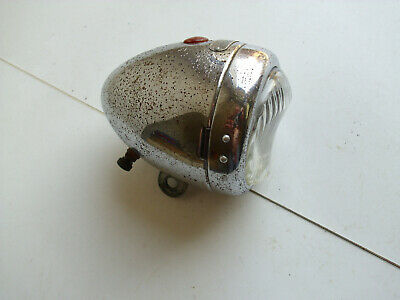 Alte Fahrradlampe / alter Fahrradscheinwerfer TRIEPAD für Oldtimer Fahrrad