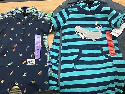 Boys Carters Bug Or Whale Outfit, Department Of Handsome Gentlemen bodysuit