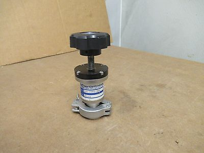 Nor-cal Products Manual Angle Isolation Valve Esv-1002-nwb Esv1002nwb Used