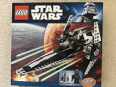 Lego 7915 Star Wars imperial V-wing starfighter complete built once