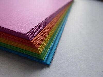 Bastelkarton - SET Papier / Karton DIN A5 21x14,8 cm bunt   200g/m2 50 Blatt