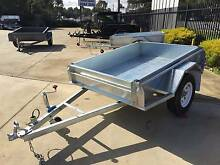 7x5 Heavy Duty Galvanised Rolled Body Trailer Morphett Vale Area Preview
