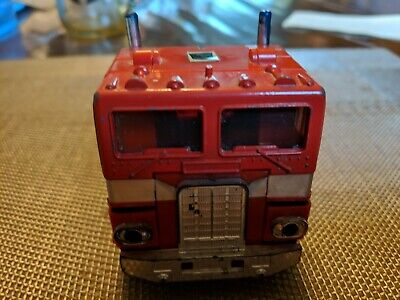 VINTAGE G1 TRANSFORMER OPTIMUS PRIME CAB ONLY by HASBRO from 1984 ~ EXCELLENT!