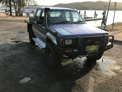 1995 Mitsubishi MJ Triton 4x4 Turbo Deisel with rego