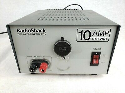 Radio Shack 10A 13.8V Regulated Linear Power Supply Cat. No. 22-506 Tested 10a Linear Power Supply
