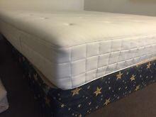 IKEA queen size memory foam mattress + queen base Panania Bankstown Area Preview