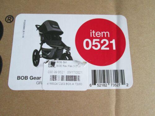 Bob 2020 Revolution Flex 3.0 Stroller in Graphite Black BRAND NEW IN A BOX