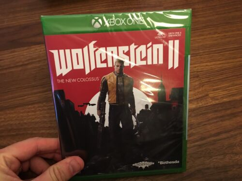 $30.00 - Wolfenstein II: The New Colossus - Microsoft Xbox One - 2017 - New and Sealed