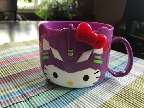 Hello Kitty Neon Genesis Evangelion Rare Cup from Japan