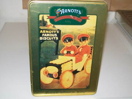 Vintage Arnott's Car Biscuit Tin Noarlunga Downs Morphett Vale Area Preview