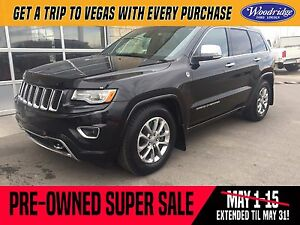 2015 Jeep Grand Cherokee Overland PRE-OWNED SUPER SALE ON NOW!