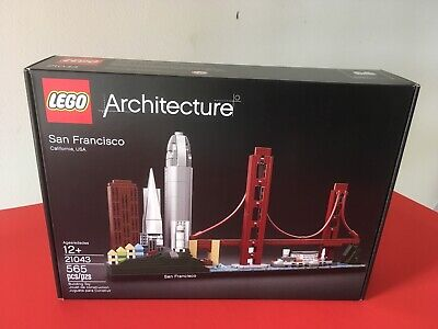 Lego Architecture San Francisco 21043 Skyline New 100% Trusted Lego Seller