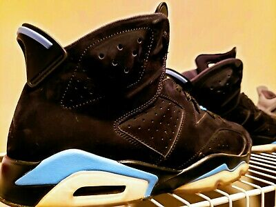 Air Jordan 6 Retro UNC Black University Blue Size 13 w/box, *Free Shipping*