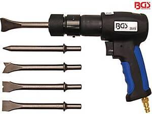 BGS 3515 7-tl Satz Drucklufthammer Druckluftmeißel Meißelhammer Druckluft Hammer