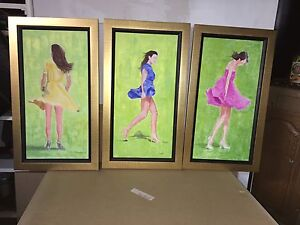 3 Paintings Frames/Cadres