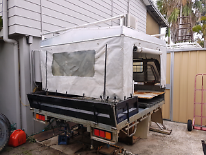 Hilux tray & canvas canopy Burpengary Caboolture Area Preview