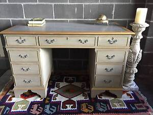 Vintage Antique Partner's Desk Berowra Hornsby Area Preview