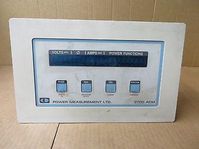 Power Measurements Ltd 3700acm Vintage Electronic Test Equipment