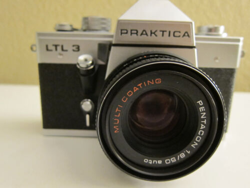 Praktica LTL 3  MC with Pentacon auto 1.8/50 MM lens