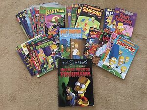 The Simpsons Assorted Comic Books Clear Island Waters Gold Coast City Preview