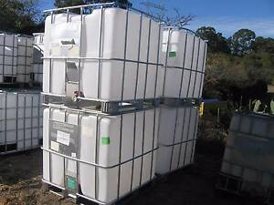 1000lt water tanks I.B.C. as new. Kellyville Ridge Blacktown Area Preview