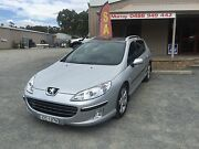 2006 Peugeot 407 Wagon Automatic Turbo diesel Leather and sunroof Woodside Adelaide Hills Preview