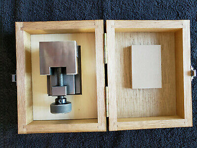 Mitutoyo Precision Toolmakers Machinist Grinding Vise 986-111