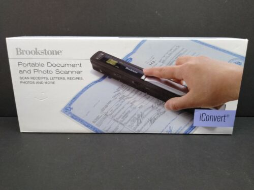 Brookstone iConvert Portable Document and Photo Scanner Requ