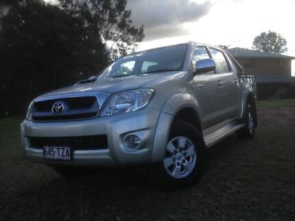 2009 Toyota Hilux Ute SR5 Auto 4x4 Glamorgan Vale Ipswich City Preview