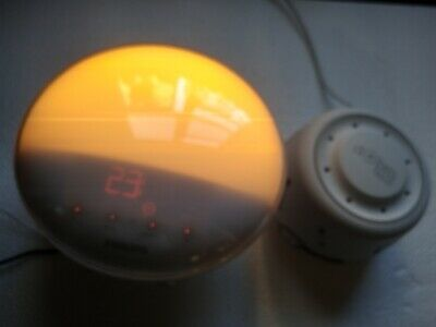Philips Wake Up Light Alarm Clock Colored Sunrise Simulation