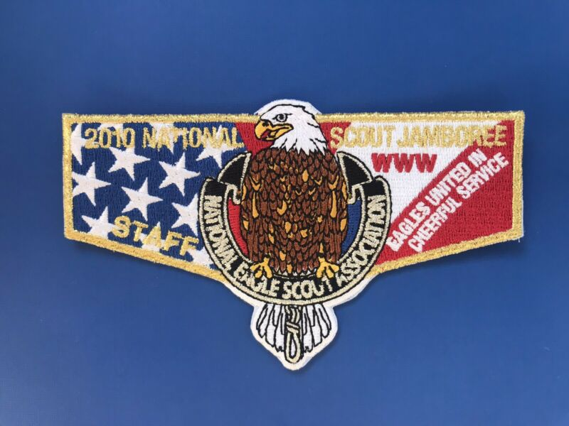 Eagle Scout Assiciation NESA Staff Flap 2010 National Jamboree