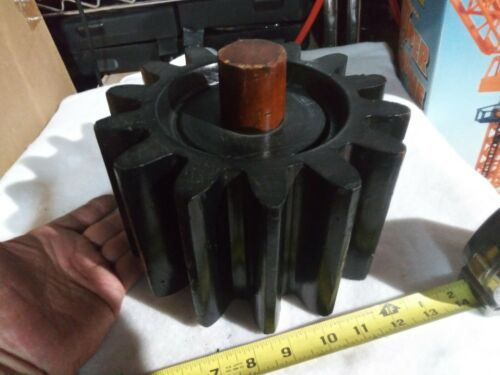 Wood Mold Foundry Pattern Antique Industrial Machinery Wooden Steampunk