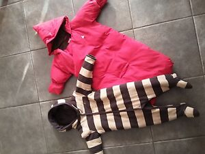 6 - 12 month baby GAP snow suits