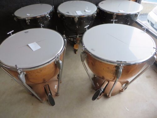 Vintage Slingerland Timpani Set of 2 Drums Project Free Shipping lower 48 #JTP02
